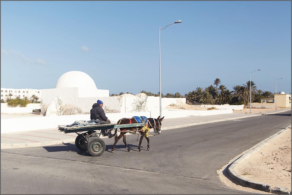 Тунис в январе. 2019.